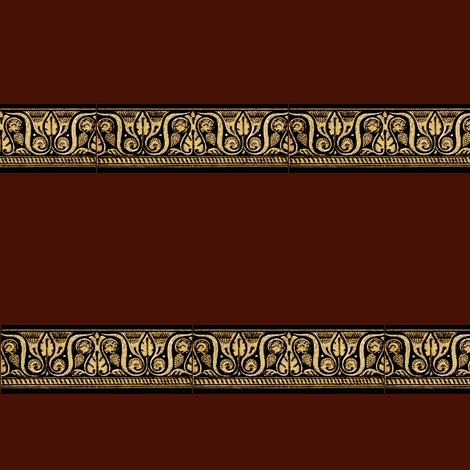 Roman Border fabric by amyvail on Spoonflower - custom fabric
