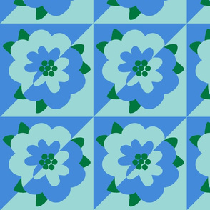 mod flower 1 - diamond decal