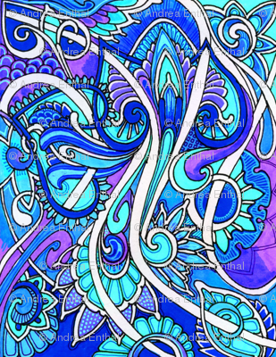 Paisley Hearted Butterfly Blues