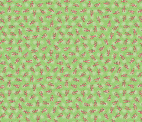Bailey Boys - Lobster fabric by jennartdesigns on Spoonflower - custom fabric