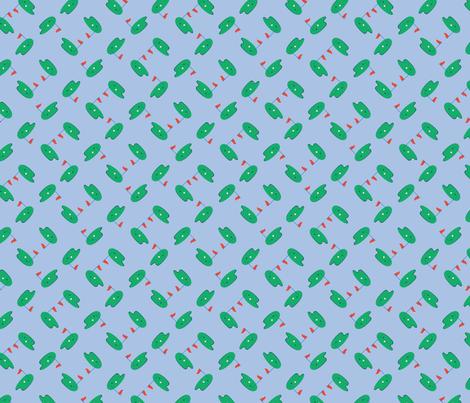 Bailey Boys - Golf (version 2) fabric by jennartdesigns on Spoonflower - custom fabric