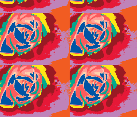rose blot fabric by swagerstylz on Spoonflower - custom fabric