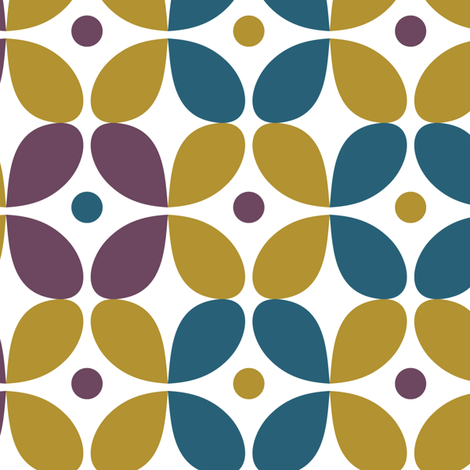 Mod_beat_wallpaper-05 fabric by bethanialimadesigns on Spoonflower - custom fabric