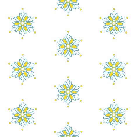 Flowers! - Sweet Birds of Summer - Summer Party - © PinkSodaPop 4ComputerHeaven.com fabric by pinksodapop on Spoonflower - custom fabric