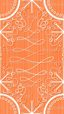 Fancy Orange atomic star