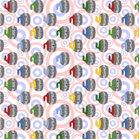 curling fabric by loopy_canadian on Spoonflower - custom fabric