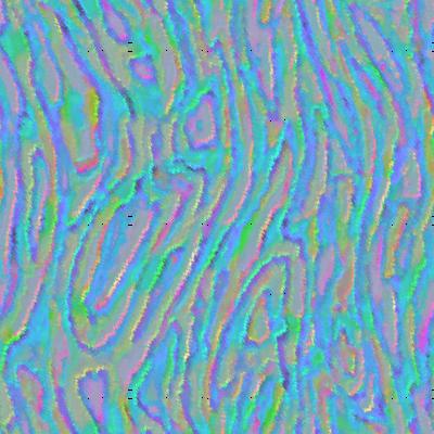 blue rainbow swirls