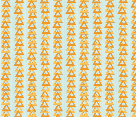 Textured triangles fabric by seabluestudio on Spoonflower - custom fabric