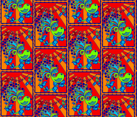 Tweet Tweet fabric by whimzwhirled on Spoonflower - custom fabric