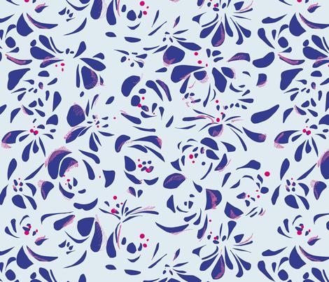 Rosae_05 fabric by rouge_pivoine on Spoonflower - custom fabric