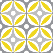 Lemon Peels - Mod Wallpaper - Three Color