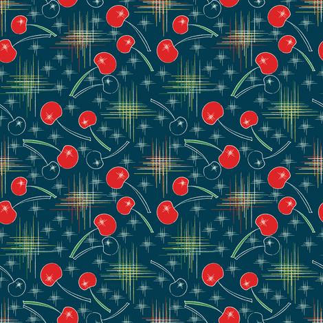 Cherry Blast fabric by mag-o on Spoonflower - custom fabric