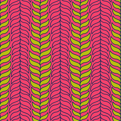 Pop Plant fabric by candyjoyce on Spoonflower - custom fabric