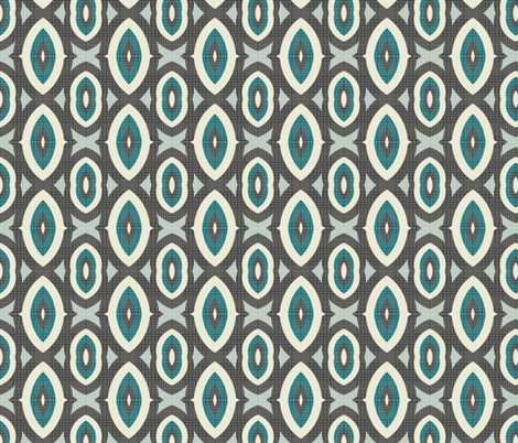 mod wallpaper 9 fabric by kociara on Spoonflower - custom fabric