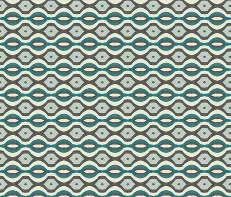 mod wallpaper 7 fabric by kociara on Spoonflower - custom fabric