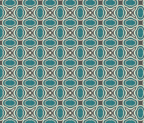 mod wallpaper 6 fabric by kociara on Spoonflower - custom fabric