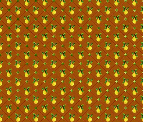 Tobacco_Pear_Trellis fabric by kelly_a on Spoonflower - custom fabric