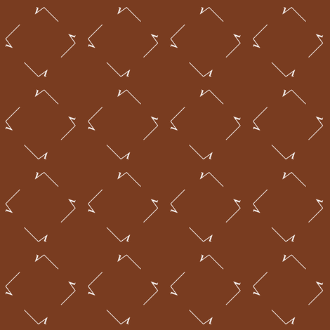 Square Root squares - Boolean Brown fabric by weavingmajor on Spoonflower - custom fabric