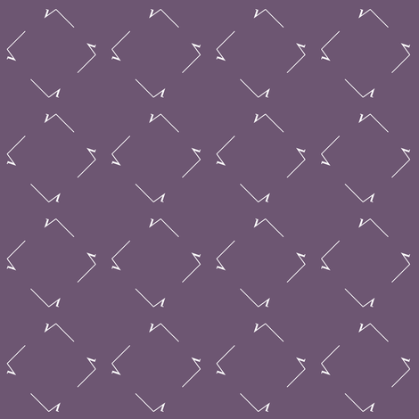 Square Root squares - Hypatian Violet fabric by weavingmajor on Spoonflower - custom fabric