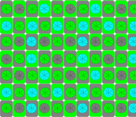 mod_flower fabric by lacheyl on Spoonflower - custom fabric