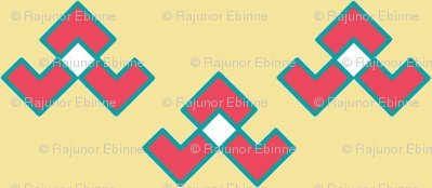 Chevron_Broken_U_Summer_Coral__Turquoise__and_Beige