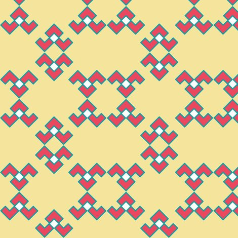 Rrchevron_broken_u_summer_coral__turquoise__and_beige_shop_preview