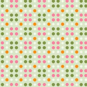 crepe flower dots LARGE