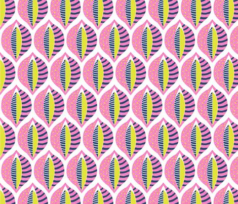 60s Mod Lupin fabric by creative_merritt on Spoonflower - custom fabric