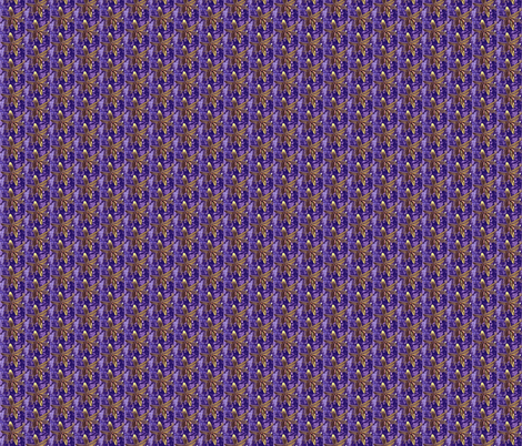 lily_purple_stripe fabric by tangledvinestudio on Spoonflower - custom fabric