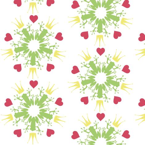kiss_me_pattern fabric by luettwitz on Spoonflower - custom fabric