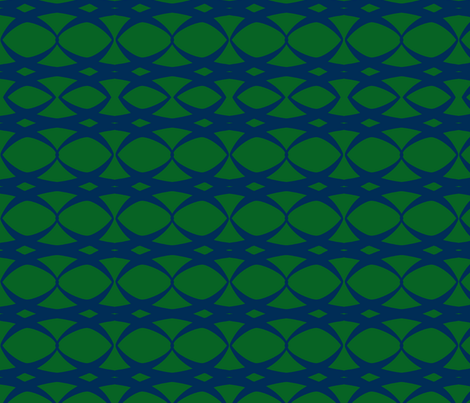 Mod lotus chain fabric by lizartelier on Spoonflower - custom fabric