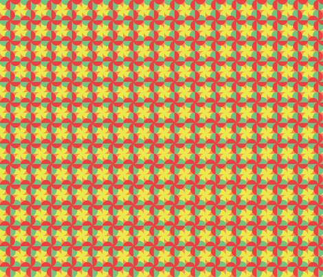 Spring for Retro fabric by rebecca_allen on Spoonflower - custom fabric