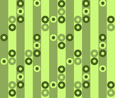 Modern Greens fabric by sufficiency on Spoonflower - custom fabric