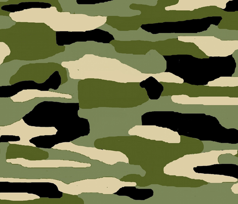 Camo green fabric by paragonstudios on Spoonflower - custom fabric