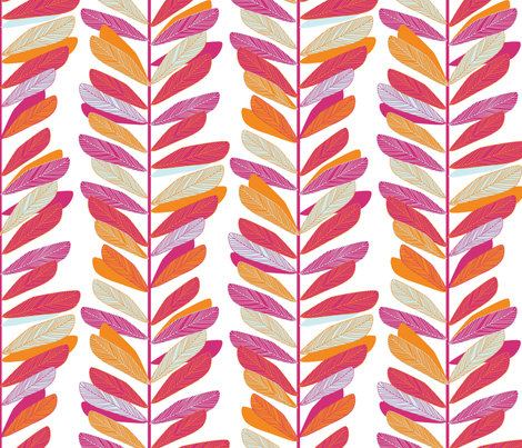 Branches fabric by jillbyers on Spoonflower - custom fabric