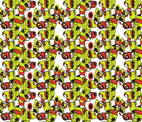 make_me_mod_4 fabric by ceci_bowman on Spoonflower - custom fabric