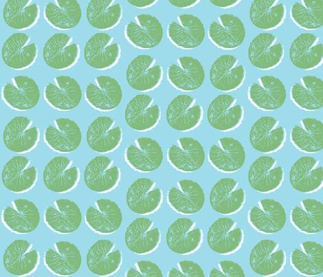 lily pad (small)  fabric by pattyryboltdesigns on Spoonflower - custom fabric
