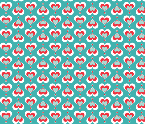 Made with love fabric by pieke_wieke on Spoonflower - custom fabric