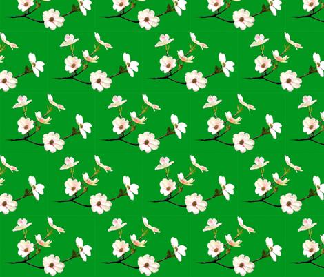 white_flowers_download fabric by empressoffabrics on Spoonflower - custom fabric