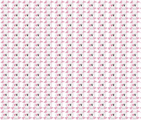 Girly Skulls fabric by dsa_designs on Spoonflower - custom fabric