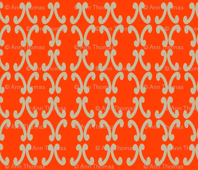 Orange Mod Delight
