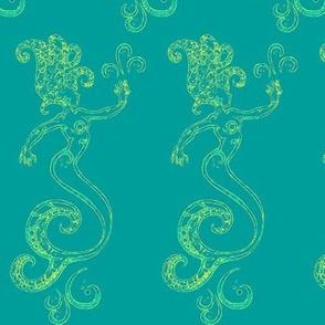 Magical Mermaids-blue