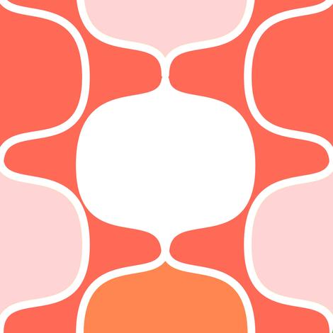 modorangepink fabric by meg56003 on Spoonflower - custom fabric