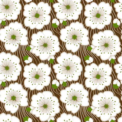 Modern Vine fabric by mag-o on Spoonflower - custom fabric