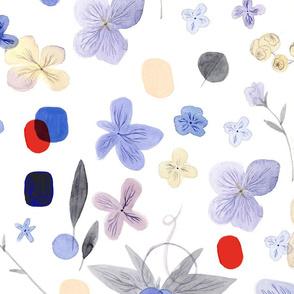 Botanical violet
