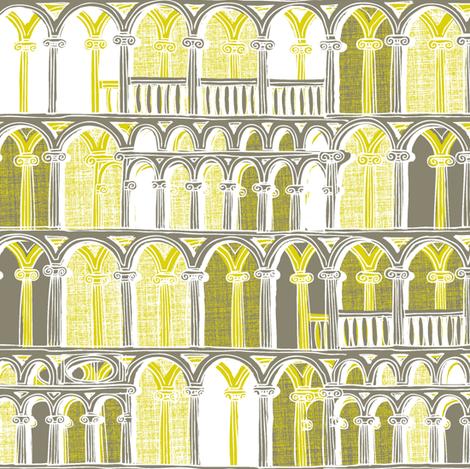 Midsummer Athens Starlit fabric by spellstone on Spoonflower - custom fabric