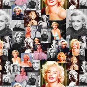 marilyn monroe saturated & distressed
