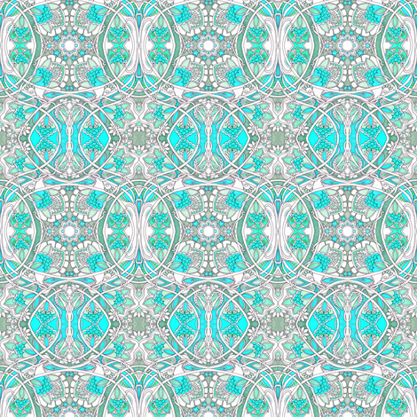 Visiting Aunt Matilda's House fabric by edsel2084 on Spoonflower - custom fabric