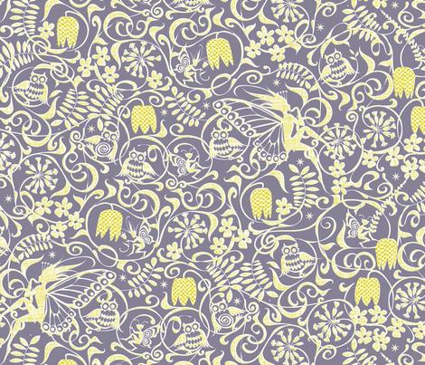 Midsummer Twilight fabric by spellstone on Spoonflower - custom fabric