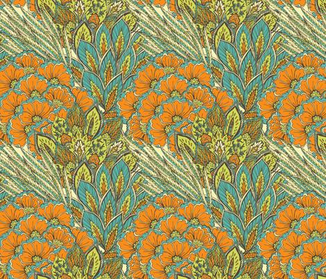 Oriental ornament. fabric by veraholera on Spoonflower - custom fabric